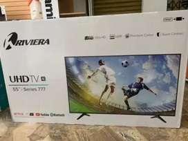 Vendo tv riviera de 55 4k smart tv nuevo de paquete