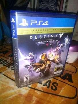 Vendo Destiny para PS4 perfecto estado poco uso