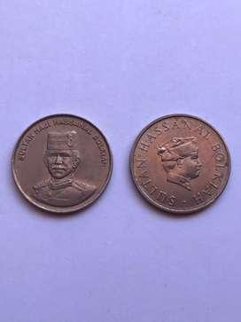 Brunei monedas