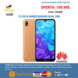 Huawei Y5 2018 Dual Sim - Color Cafe Caramelo - GARANTIA