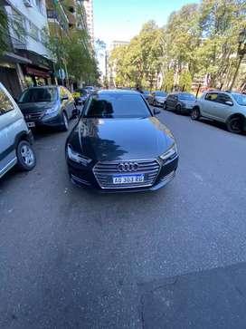 Audi A4 gris. Único dueño