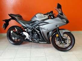 Vdo Yamaha R3 2.000km Recibo Auto Y Moto