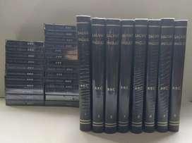 Salvat curso inglés BBC 8 tomos más 25 cassettes nuevos