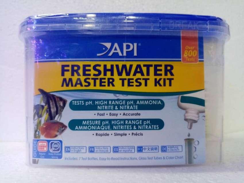 MASTER TEST KIT API PARA ACUARIOS Y ESTANQUES