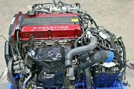 JDM MITSUBISHI EVO 7 CT9A 4G63 TURBO 2.0L ENGINE AUTOMATIC AWD TRANSMISSION, ECU, WIRING HARNESS