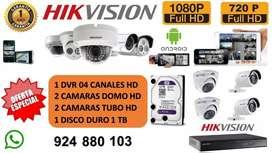 Venta e Instalacion de Camaras HD - FULL HD