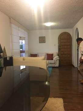 ALQUILO DEPARTAMENTO EN MIRAFLORES AMOBLADO 100 m2,AVENIDA BENAVIDES