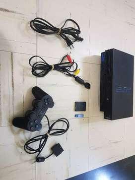 PlayStation 2 FAT para jugar por USB (detalle) o se cambia por una PSP 3001
