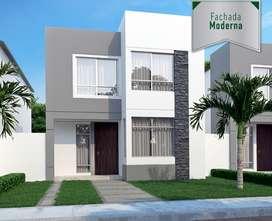 Venta de  Proyecto de Casa en Urbanización la Joya casas con excelentes acabados
