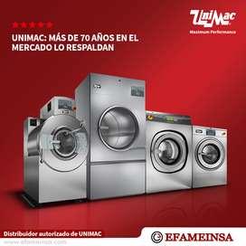 Lavadoras y Secadoras industriales Unimac