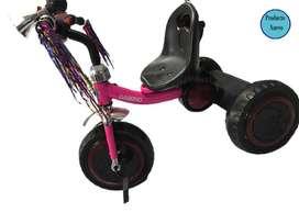 Triciclo Metalico Con Llantas De Goma