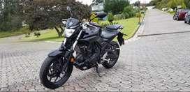 Vendo hermosa moto Yamaha MT-03, como nueva! Único dueño