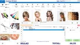 Software punto de venta para tienda de belleza peluquería.