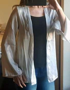 Kimono mujer. Raso. NUEVO. Talle M