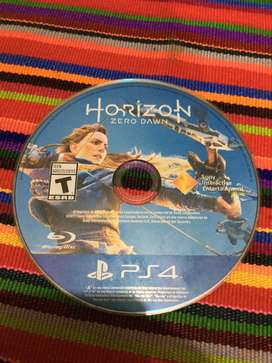 Vendo Horizon Zero Dawn para PS4