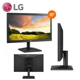 Monitor de 20 pulgadas LG 20MK400H CON PUERTO HDMI