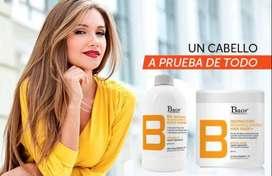 Botox capilar con Baor crema