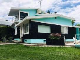 sj21 - Cabaña para 2 a 5 personas con pileta y cochera en San Antonio De Arredondo