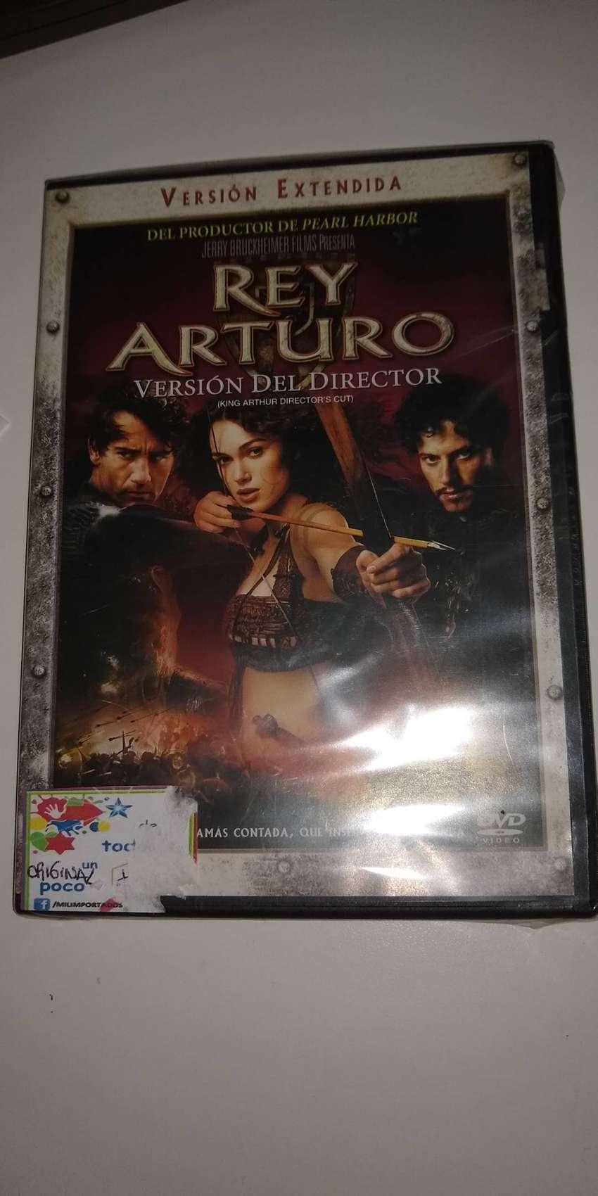 El Rey Arturo DVD Original Nuevo