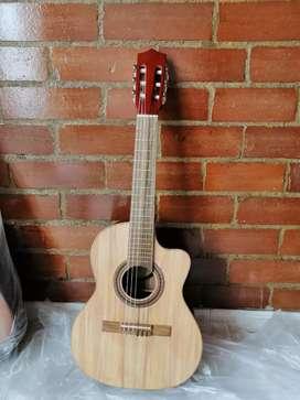 Guitarra acústica puntera