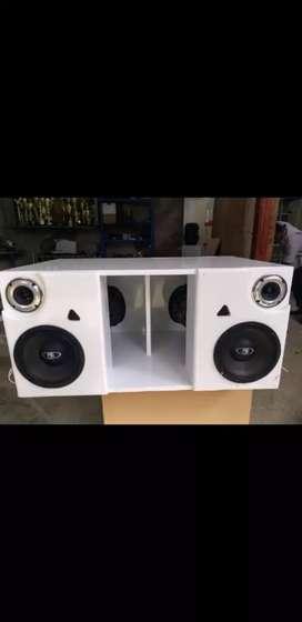 Audio completo para vehículo