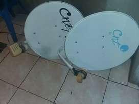 Antena satelital ccnntt