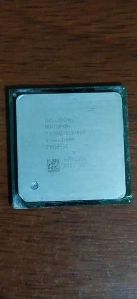 Procesador Intel Pentium 4 funcional
