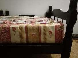 Cama con colchón