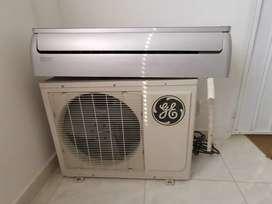 Se vende aire acondicionado INVERTER, marca General Electric de 18000Btu 220w