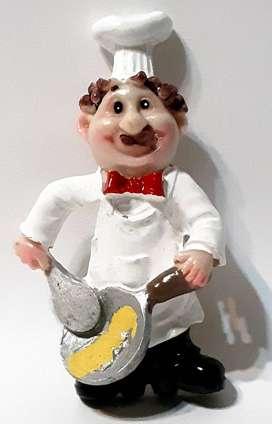 Imán Para Heladera Cocineros Chef