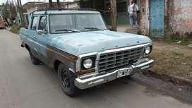 Ford F100, DOBLE CABINA, TITULAR