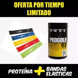 Proteína + bandas