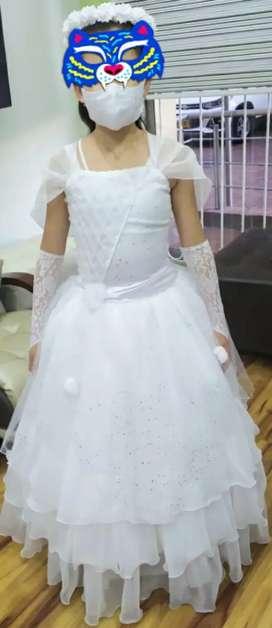 Vestido de primera comunión 1 postura