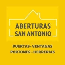 ABERTURAS SAN ANTONIO MERLO Puertas  y ventanas fabricante venta al publico directa