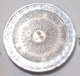 6 Moneda de $1 con error ortografico