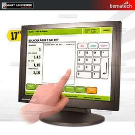 Monitor Bematech 17 Pulg touch Táctil Punto De Venta
