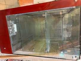 Vitrina exhibidora pastelera refrigeradora