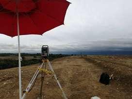 Servicio de mediciones  topográficas
