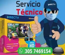 Servicio Técnico ESPECIALIZADO Directv y otros operadores satelitales