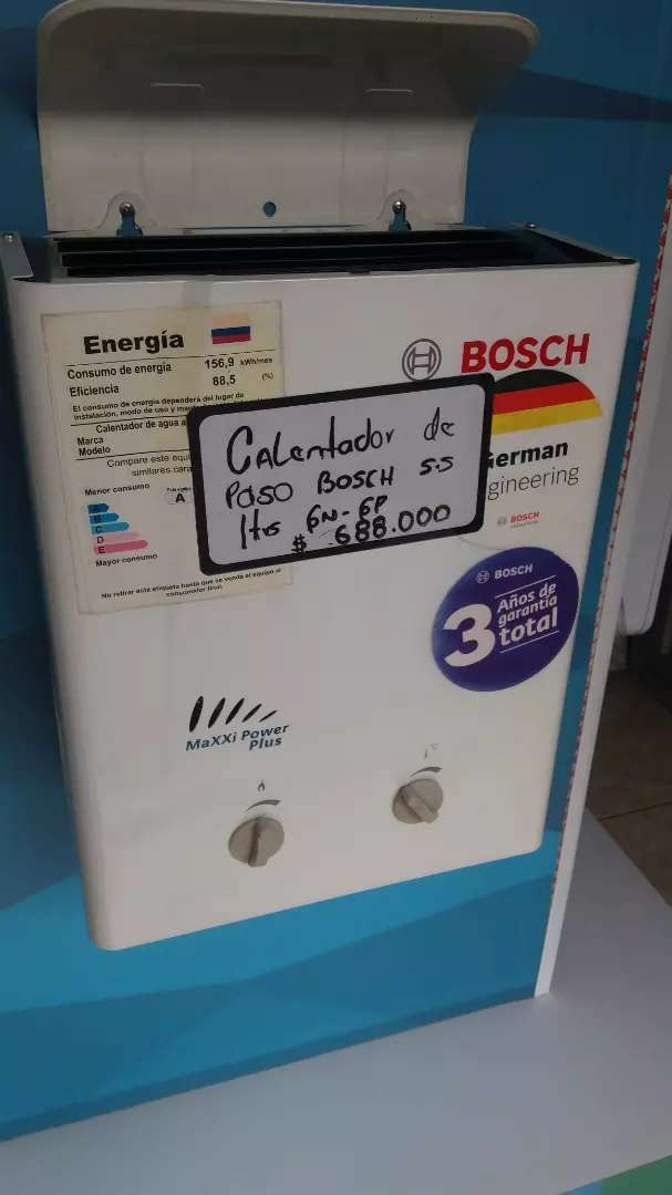Calentador de agua a gas 0