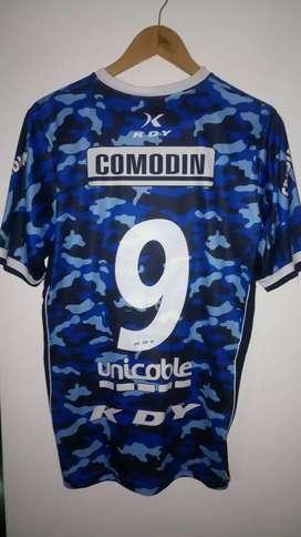 Camiseta Gimnasia De Jujuy. KDY camuflada. Talle L. Como nueva.