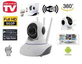 Cámara Seguridad FULL HD, Robótica Ip, Wifi, Visión Nocturna, Nuevas, Garantizadas...