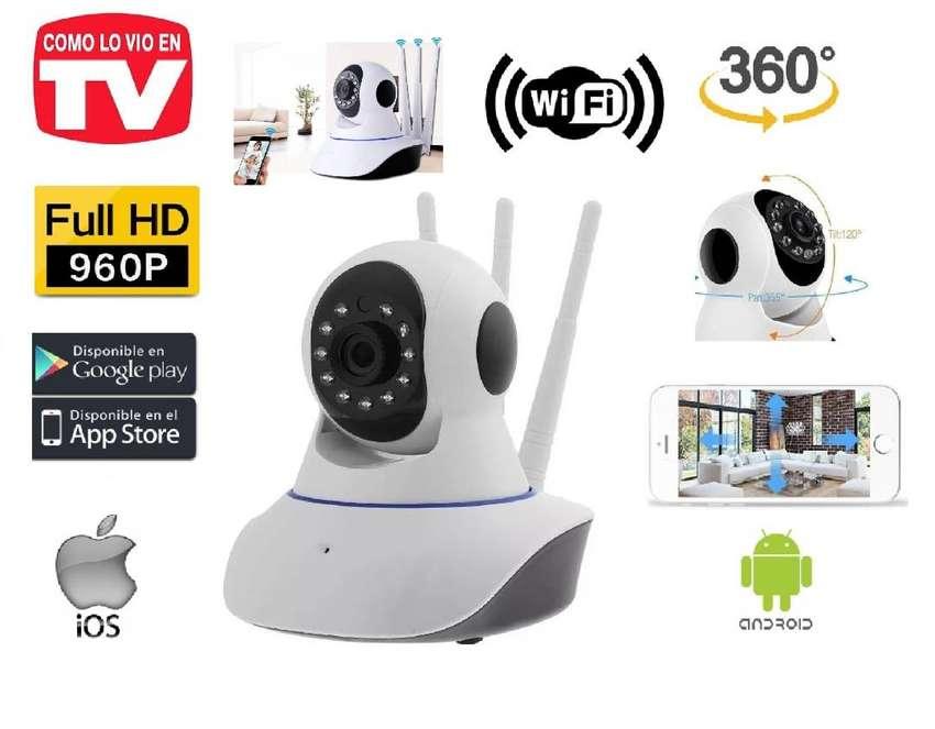 Cámara Seguridad FULL HD, Robótica Ip, Wifi, Visión Nocturna, Nuevas, Garantizadas... 0