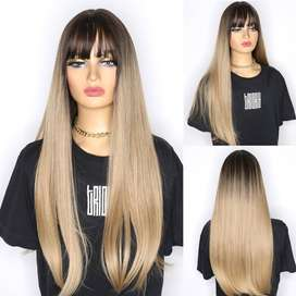 peluca de cabello humano