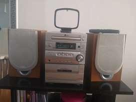 Equipo de Sonido LD - MP3 LX M330 Control Remoto