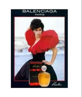 Perfume Original Balenciaga Rumba Dama 100ml