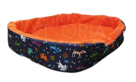 Cama Para Perro Golden Resistente 70X10X20cm Mascotas