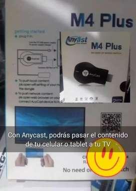 Anycast, para pasar contenido de tu celular a tu TV