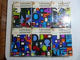 Diccionario Enciclopédico Larousse Universal, 6 Tomos