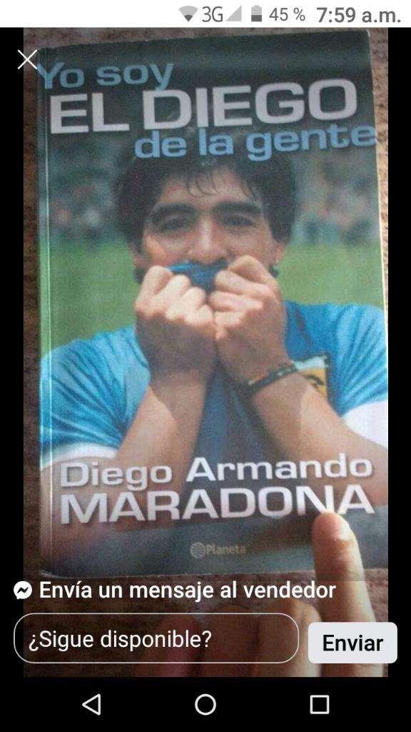 Libro El Diego de La Gente Esta Nuevo 0